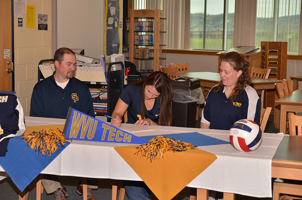 Brianna Whaley Signing to play for WV Tech