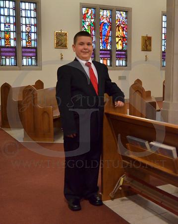 St. Joe 1st Communion 5-2013