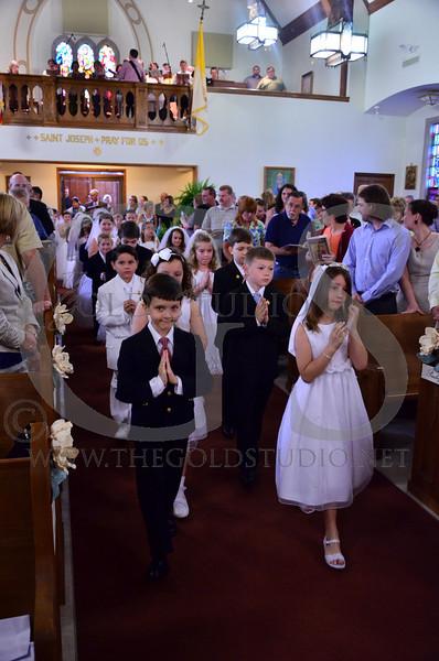 St. Joe 1st Communion 5-6-2012